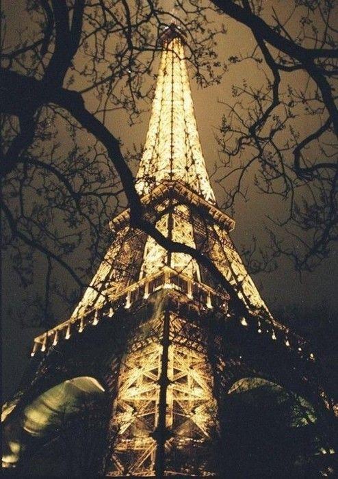 nighttime in Paris