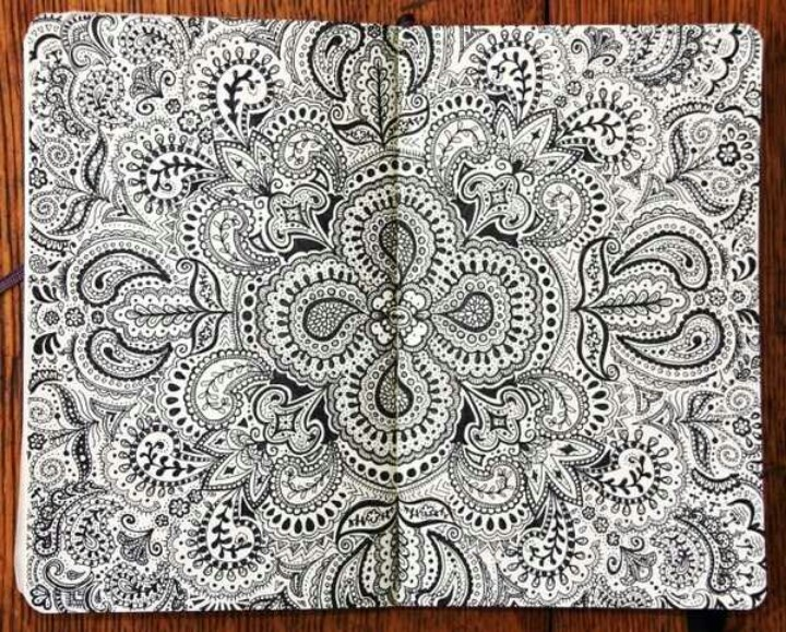 #doodle #art #sketch #draw #patterns | Zentangle ...