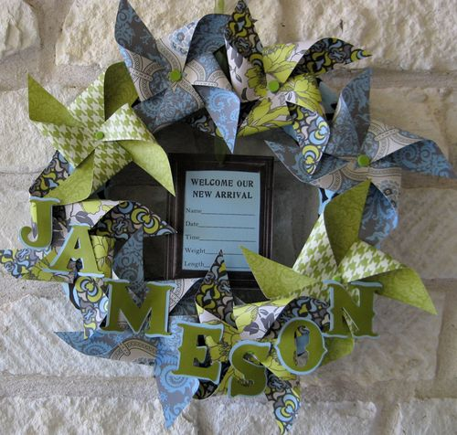 Birth Wreath Trend Lets You Add Bling to Your Delivery Room   The Stir