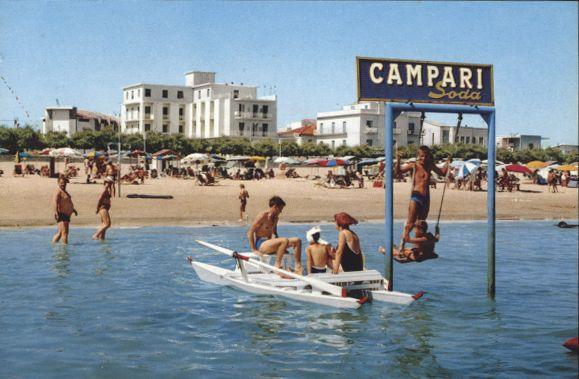 Poster '60 - Spiaggia di Velluto Velvet Beach Senigallia by Hotel Turistica di Senigallia