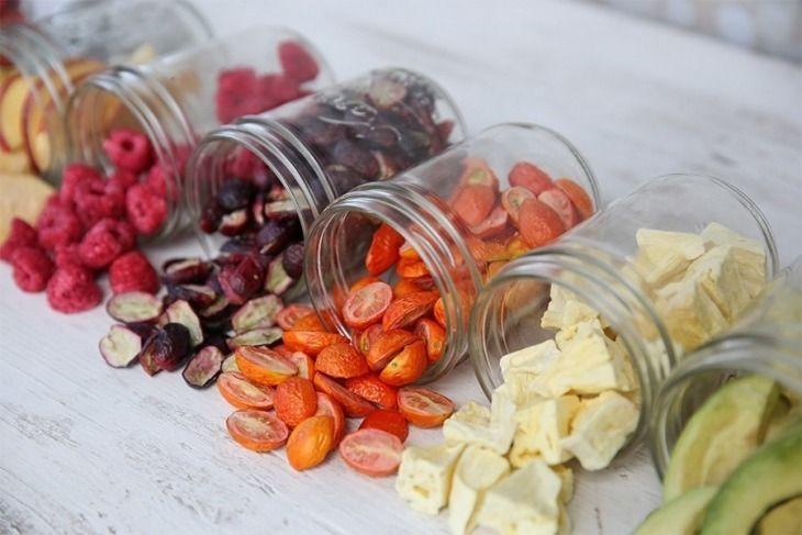Domácí sušené potraviny a vitamin D