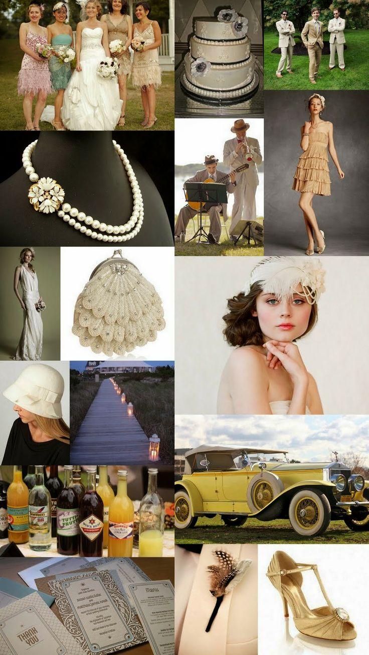 1920s Wedding Theme | http://simpleweddingstuff.blogspot.com/2014/04/1920s-wedding-theme.html