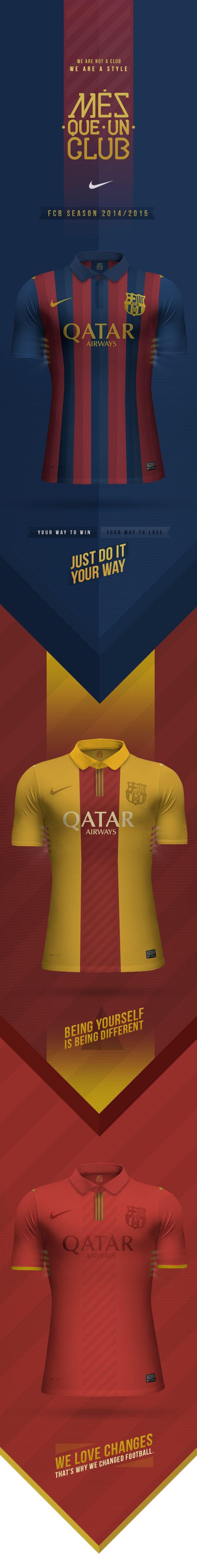 Barcelona FC - Concept by E S, via Behance