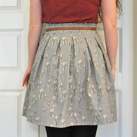 Jule for unique People - Paperbag Skirt