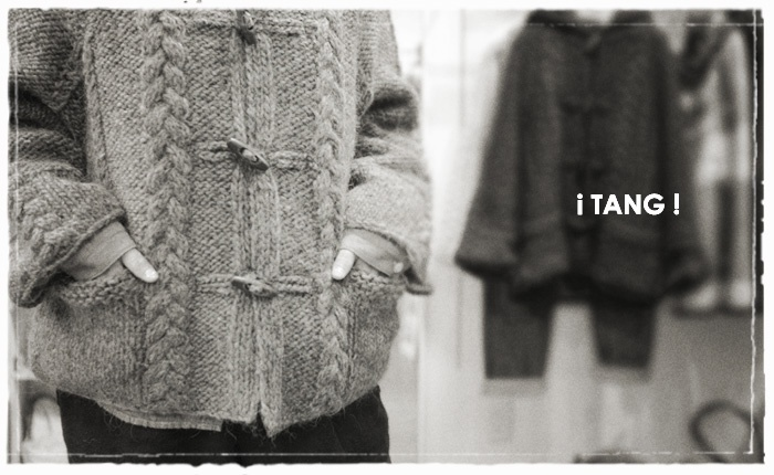 Icelandic Wool・アイスランディック ウールのフードニットがtang・タングから届きました!