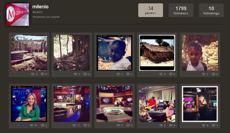 El diario mexicano Milenio prueba una nueva experiencia en las redes sociales con su aparición en la red social— de 27 millones de usuarios— Instagram.
