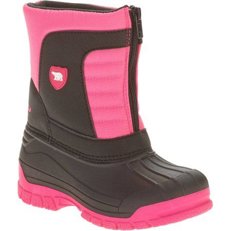 Faded Glory Girls Arctic Shield Pac Boot, Size: 13, Black
