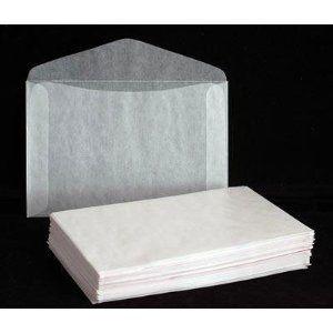 Glassine envelopes!!!