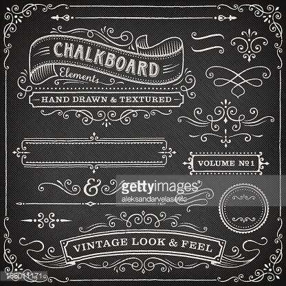 chalkboard banner - Google �