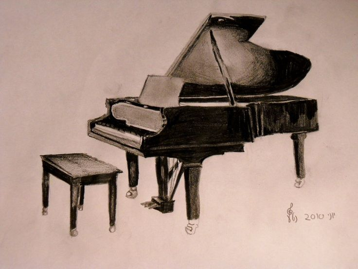 Grand Piano by OoOoNettaoOoO