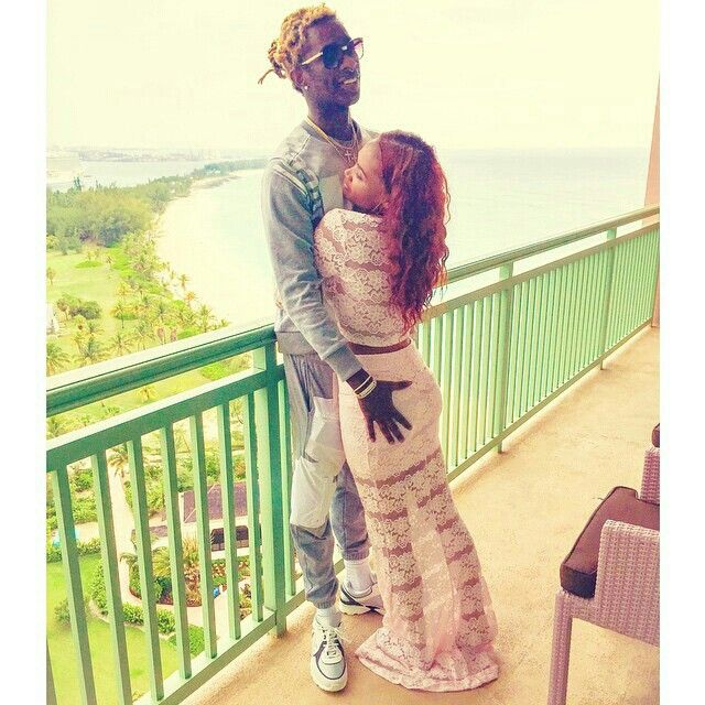 Young thug and girlfriend