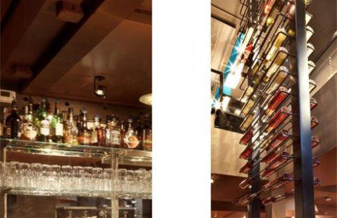 Backbar Bottle Display - Design Beers Brickworks