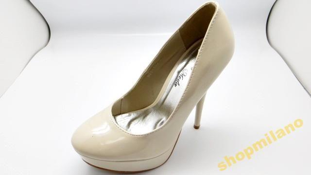 Czółenka peep toe szpilka 988-103 Beżowe rozm36-41  http://allegro.pl/czolenka-peep-toe-szpilka-988-103-bezowe-rozm36-41-i3457732515.html