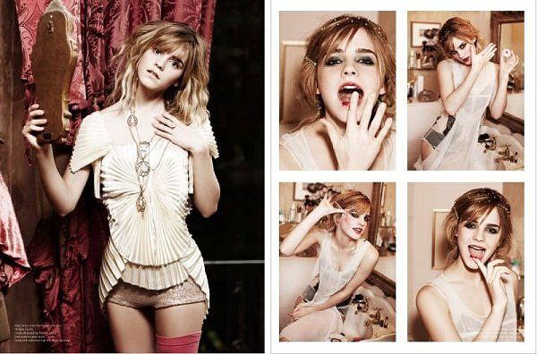 Emma watson = gorgeous face