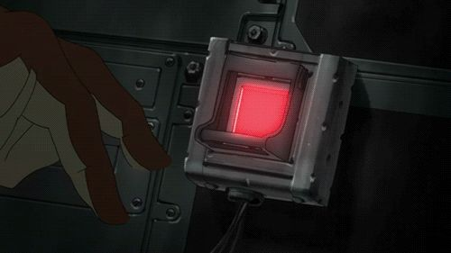 Futuristic Cyberpunk User Interface from the Japan Anime Movies.