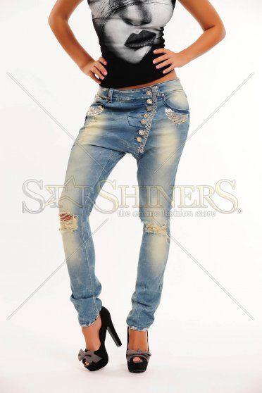 Jeans Mexton Dreamy Twist Blue