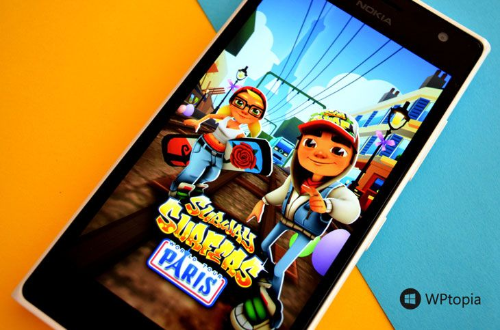 #SubwaySurfers of #WindowsPhone Go to Paris!   Read more at: http://wptopia.net/subway-surfers-for-windows-phone-go-to-paris/