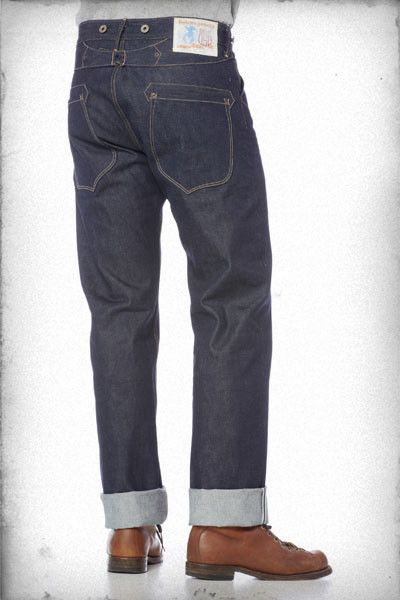 RISING SUN & CO. - Blacksmith buckle-back jeans