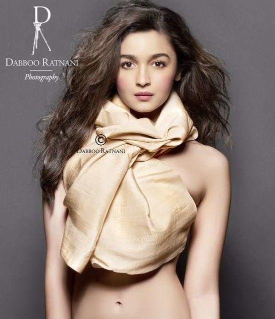 Alia Bhatt Hot Bra Bikini Photos - Magazine Covers 2016