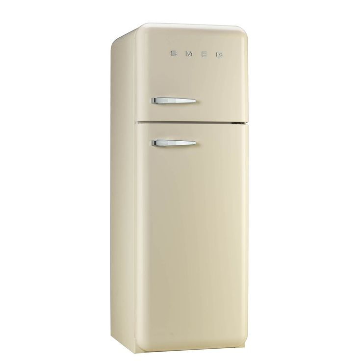 smeg fab30rfc 50u0027s retro style cream fridge freezer