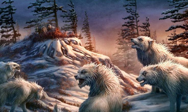 snow werewolves