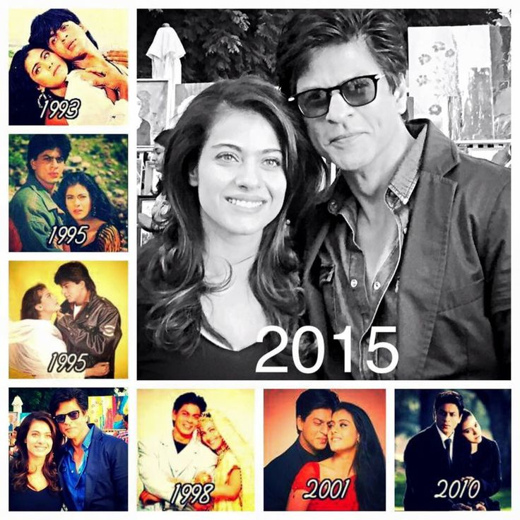 Shahrukh Khan & Kajol their chemistry on screen is stuff of legends. My abso fav couple in Bollywood next to Rani and SRK!