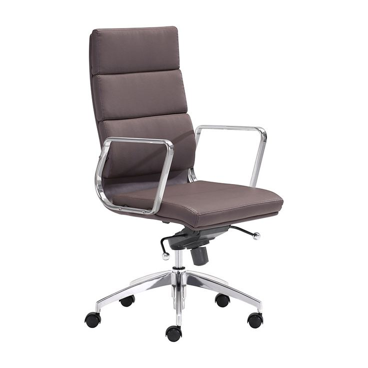 sleek office chairs. engineer high back office chair espresso sleek chairs