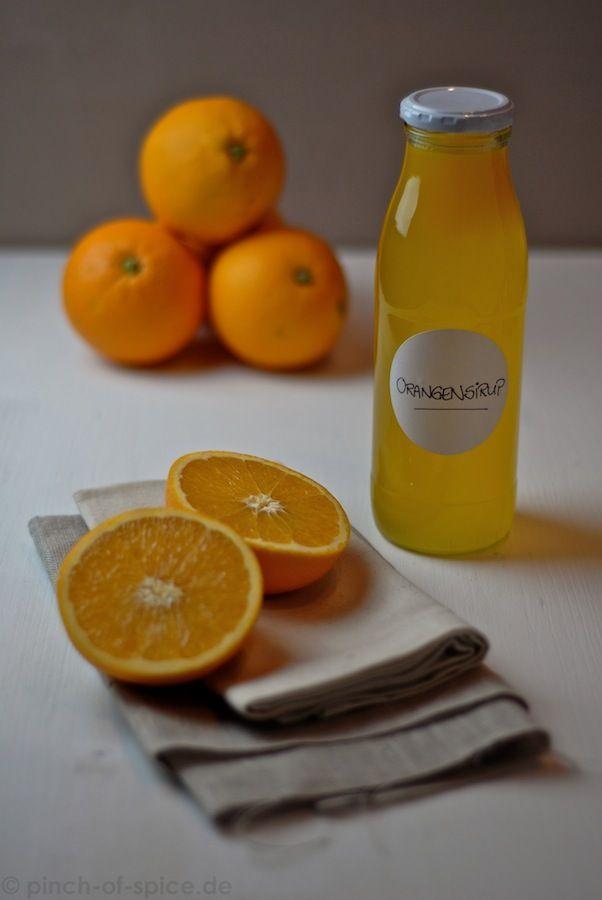 Orangen-Sirup