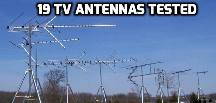 19 TV antennas were tested to find the best TV antenna