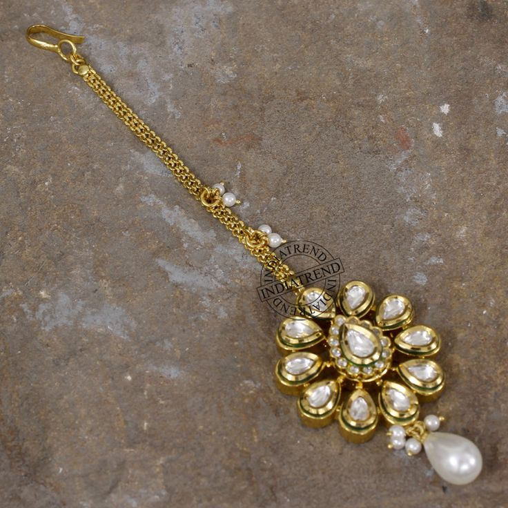Our ABIA MAANG TIKKA   by Indiatrend. Shop Now at WWW.INDIATRENDSHOP.COM