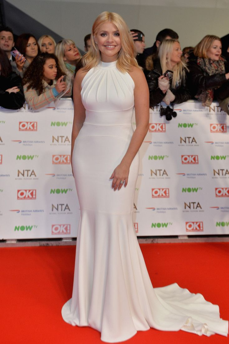 ntas 2016: holly willoughby's red carpet style evolution in 33