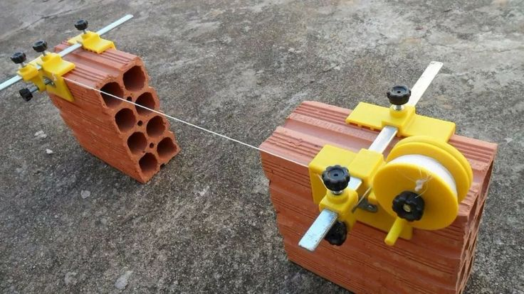 alinha certo - alinhador de tijolos e blocos