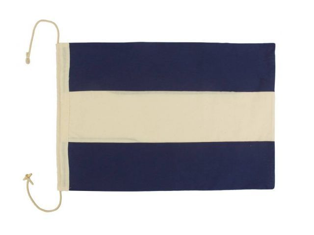 navy letter flags