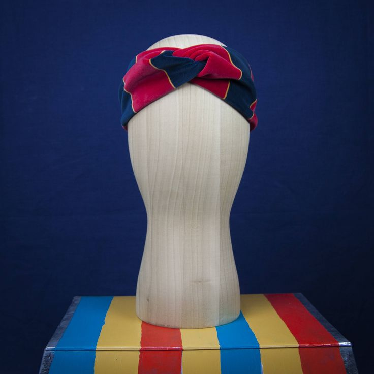 STRIPES HEADBAND  by Lily Wallace Independent label. http://www.lilywallace.com