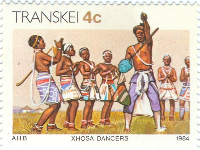 1984 Transkei - Dance group of the Xhosa tribe