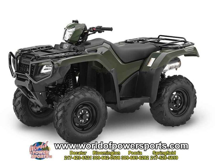 New 2016 Honda TRX500FA5G FOREMAN RUBICON 500 DCT IRS ATVs For Sale in Illinois. 2016 Honda TRX500FA5G FOREMAN RUBICON 500 DCT IRS, New 2016 HONDA FOREMAN RUBICON 500 DCT IRS ATV owned by our Bloomington store and located in BLOOMINGTON. Give our sales team a call today - or fill out the contact form below.