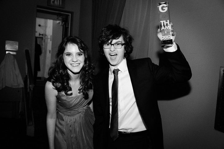 kara hayward and jared gilman or, you know, suzy and sam from moonrise kingdom