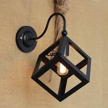 Ideal Vintage RH Loft Industrie E Amerikanischen Land Riemenscheibe Pendelleuchten Einstellbar Draht Lampen Retractable Bar Dekoration Beleuchtung