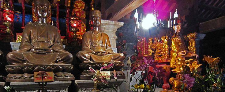 Thai Vi palace - Tam Coc - Ninh Binh. #ninhbinh #tamcoc #thaivipalace #travel #wander #buddhism