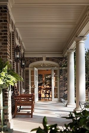Best 25 traditional porch ideas on pinterest for Georgian front porch designs