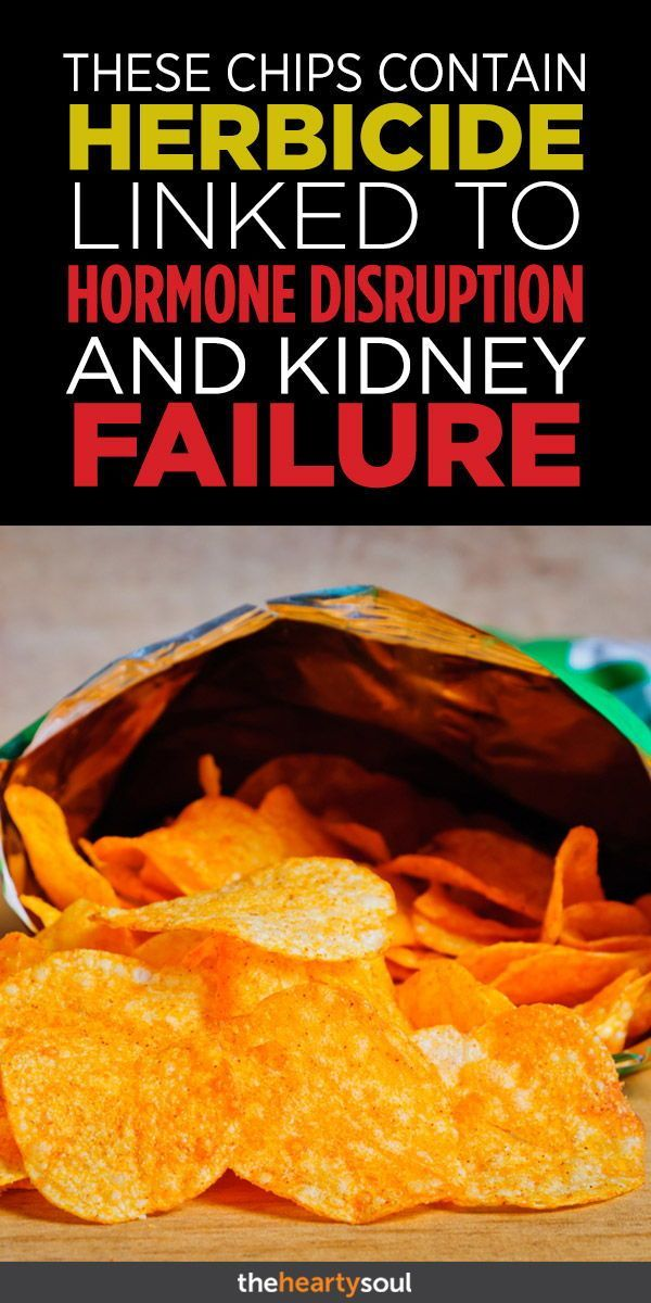 These Chips Contain Herbicide Linked To Hormone Disruption And