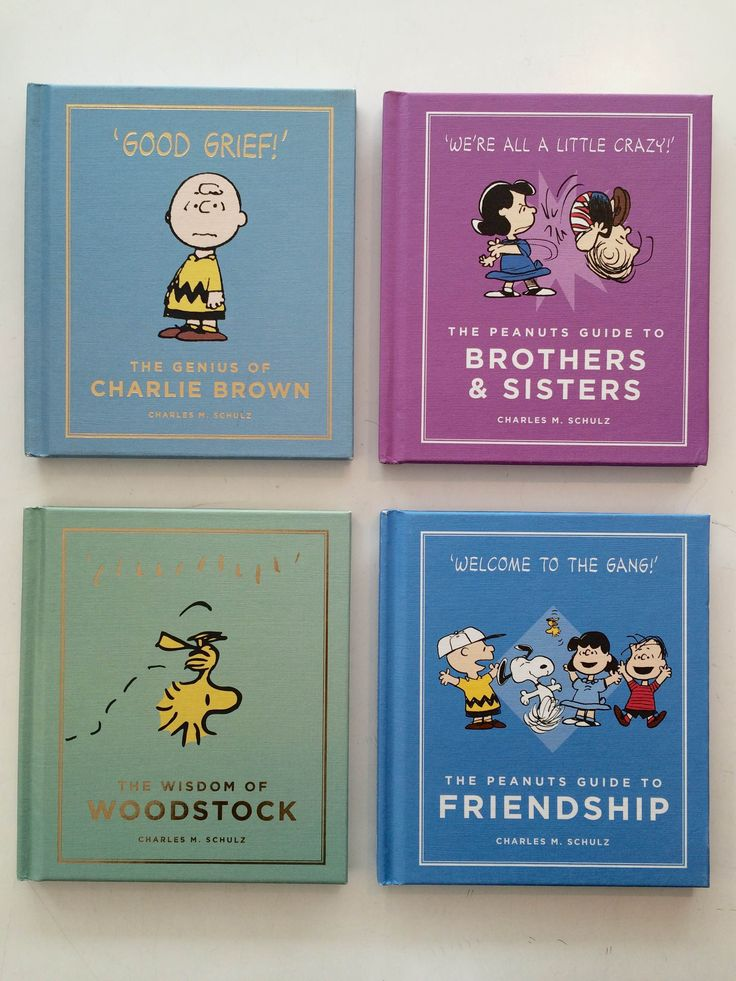 All the peanuts you need // A collection of wisdom and guidance to get you through any situation