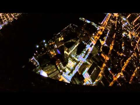 INSANELY FABULOUS!!! Incredible POV Footage of BASE Jumpers Launching Off the One World Trade Center