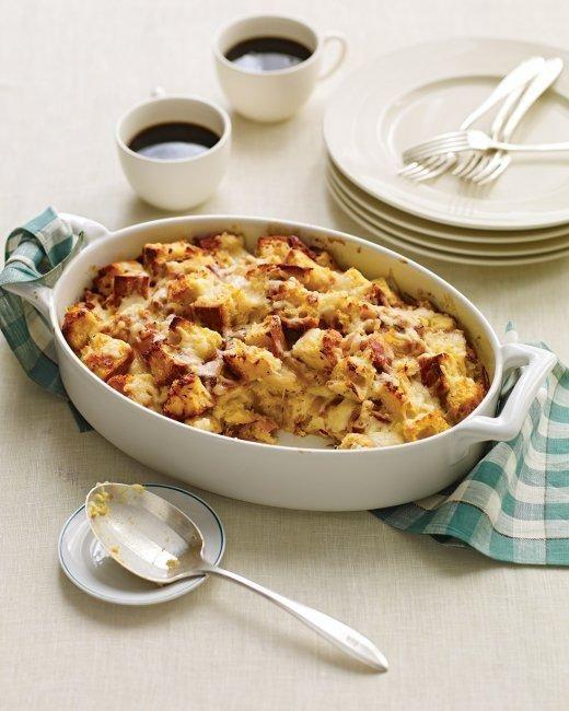 fontina speck and onion strata recipe strata recipes onions and recipes - Strata Recipes For Brunch