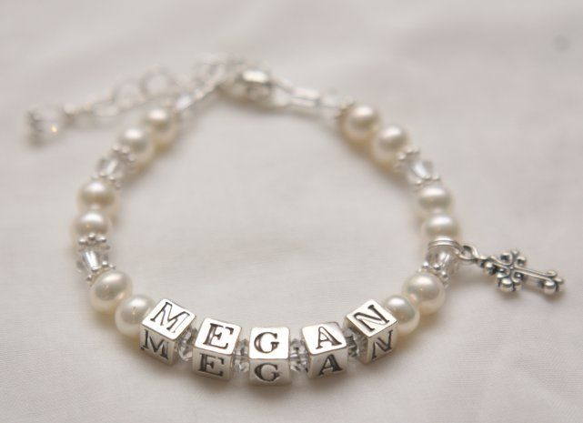 Silver and pearls - a gorgeous bracelet that would be treasured forever.