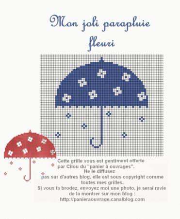 mon joli parapluie fleuri