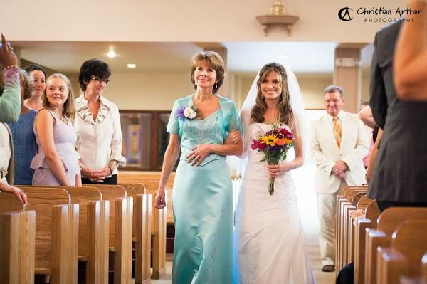 6 alternativas para la entrada de la novia en la boda