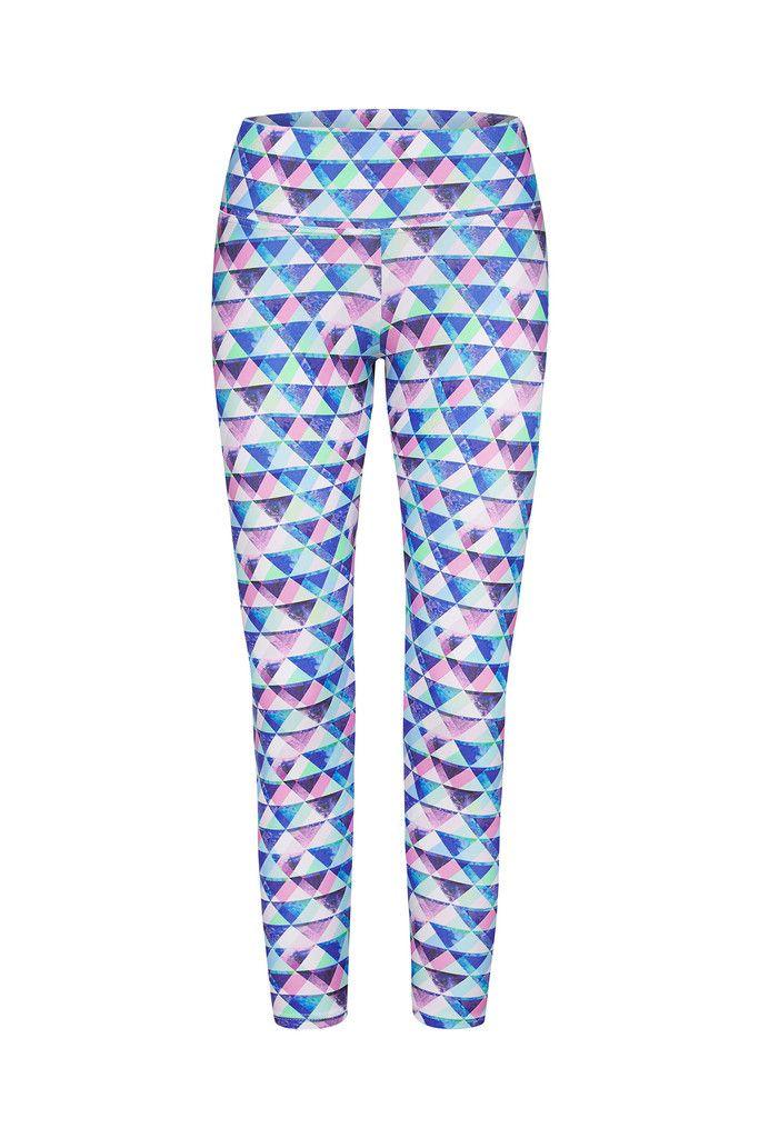 Prism Printed Yoga Legging - 3/4 – Dharma Bums Yoga and Activewear