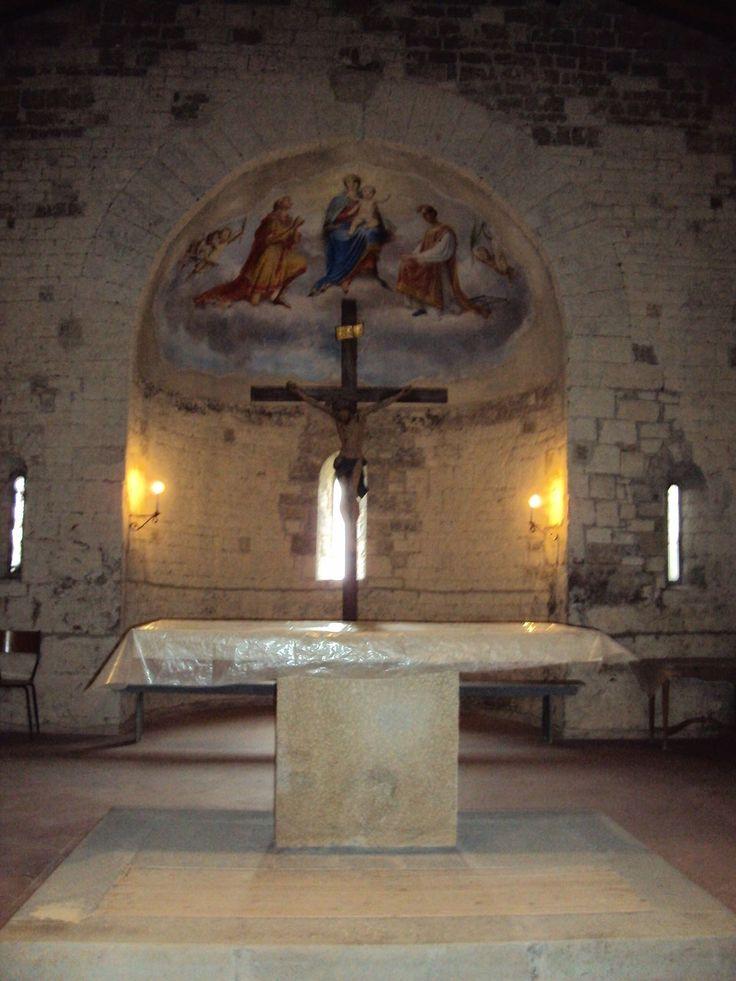 Altare maggiore con il Catino dell'Abside