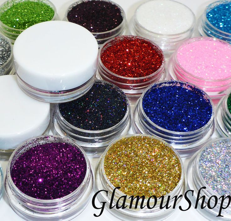 Loose GLITTER Eyeshadow Eye shadow Face or Body Painting Paint Craft Nail Art in…